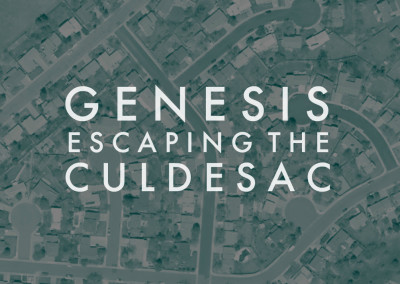 Genesis: Escaping the Culdesac