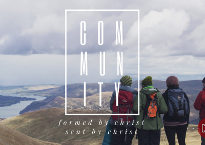 Commmunity: Formed by Christ, Sent by Christ